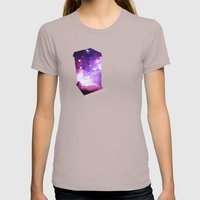 All Of Time And Space - … Womens Fitted Tee Cinder SMALL
