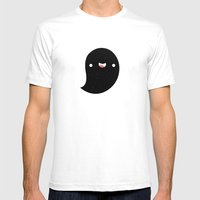 Space Ghost Mens Fitted Tee White SMALL