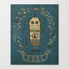 I Can Feel! Canvas Print