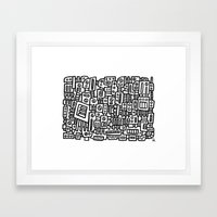 MACEM II - PM Framed Art Print