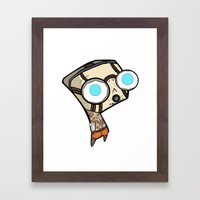 Borderlands Bandit GIR Framed Art Print
