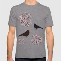 Hawthorn & Blackbird Mens Fitted Tee Tri-Grey SMALL