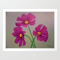 Gift of spring Art Print