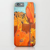 Orange Terrain iPhone 6 Slim Case
