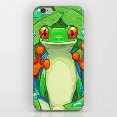 Frankie the Frog iPhone & iPod Skin