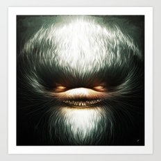 Little Evil Art Print