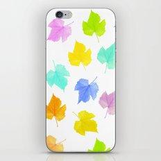 The seasons go by iPhone & iPod Skin