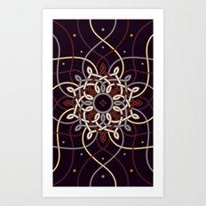 Ostara Tarot II Art Print