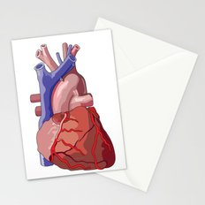 Vector Heart Stationery Cards