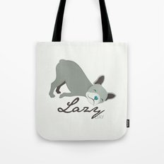 Lazy Dog Tote Bag