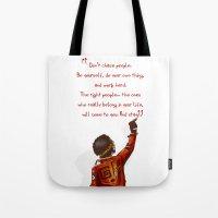 Positive Attitude Tote Bag