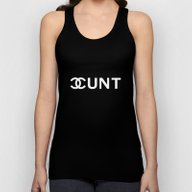 Fashion Cunt Unisex Tank Top