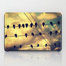 Birds on a Wire iPad Case