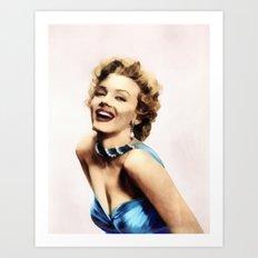 Marilyn #1 Art Print