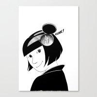 Clink! Canvas Print