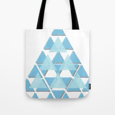 Blue Sky Mountain Tote Bag