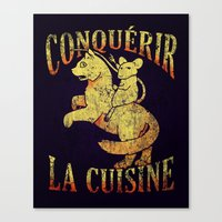 The emperor mouse Canvas Print