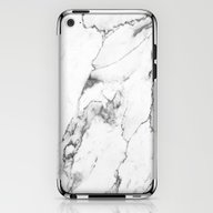 White Marble I iPhone & iPod Skin