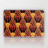 SCORCH pattern [BLACK] Laptop & iPad Skin