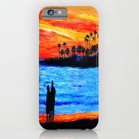 Sunset Silhouette iPhone 6 Slim Case