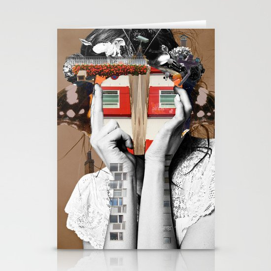 Crazy Woman - Lisa Lara Bella Stationery Card