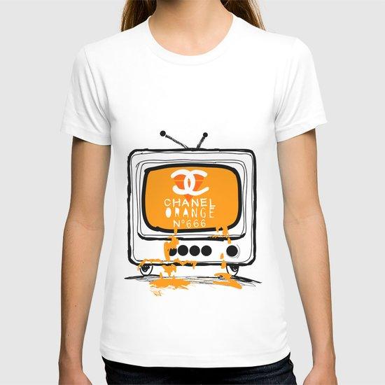 Chanel Orange T-shirt