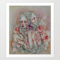 Lovely Skin Art Print