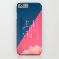 iPhone & iPod Case featuring Free Your Mind III by Galaxy Eyes
