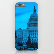 Blue on Capitol Hill Slim Case iPhone 6s