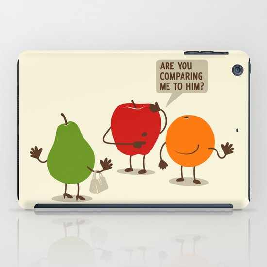 Like Apples and Oranges iPad Case