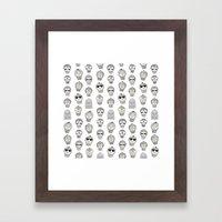Laura & Friends Framed Art Print