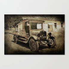 Old Girl Canvas Print