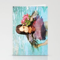 She Realized People Are Not Always What They Appear to Be Stationery Cards