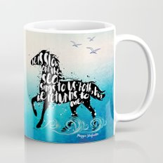The Scorpio Races quote design Mug