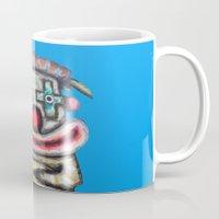 Clown With Small Adverti… Mug
