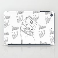 Angry Little Soymilk iPad Case