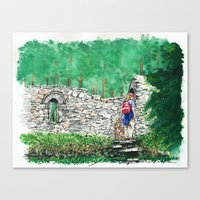 Hiking St. Saviour Canvas Print