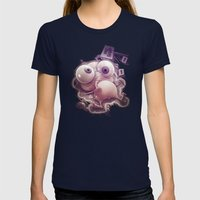 Free Sug(A)r! Womens Fitted Tee Navy SMALL