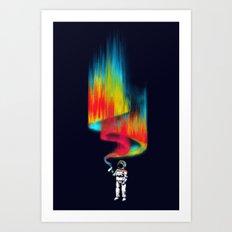 Space Vandal Art Print