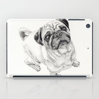 iPad Case featuring Seymour the Pug by Beth Thompson