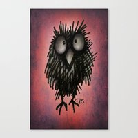 Funny Night Owl Canvas Print