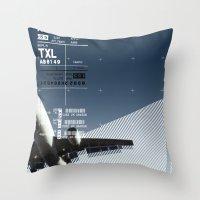 TXL Throw Pillow