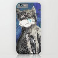 iPhone & iPod Case featuring kittens by Agata Kowalska