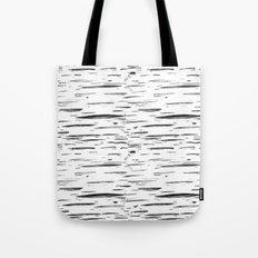 Birch Black and White Tote Bag