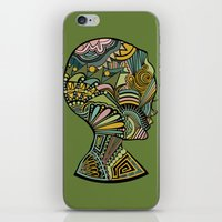 Beauty of the mind iPhone & iPod Skin