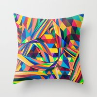 The Optimist Throw Pillow