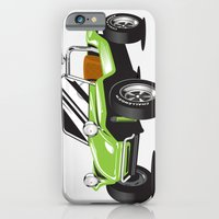 iPhone & iPod Case featuring VW Dune Buggy by C Barrett