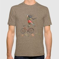 Joy Mens Fitted Tee Tri-Coffee SMALL