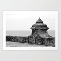 The Fort Art Print
