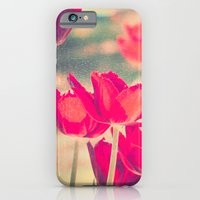 Red Tulips Diptych iPhone 6 Slim Case